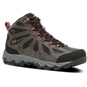 Columbia Lincoln Pass LTR Outdry Zapatillas Mid Mujer, black/red camelhia